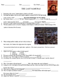 The Last Samurai Questions