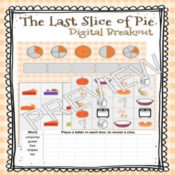 The Last Slice of Pie - Digital Breakout