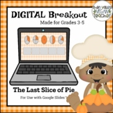 Digital Breakout Escape Room - The Last Slice of Pie