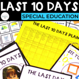 The Last Ten Days of School for Special Education