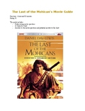 The Last of the Mohicans Movie Guide