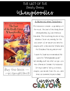 The Last of the Really Great Whangdoodles Guide