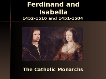The Late Middle Ages - Key Figures - Ferdinand & Isabella