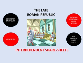 The Late Roman Republic:  Interdependent Share-Sheets Activity