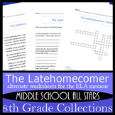 The Latehomecomer - Alternative Assignments: Classroom Activity, Vocab, & more