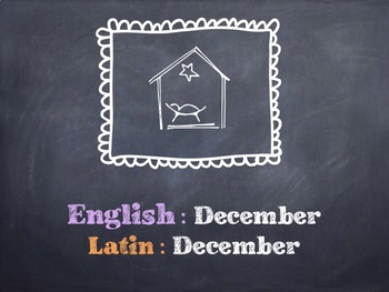 The Latin Months PowerPoint