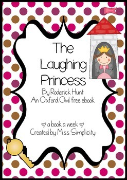 The Laughing Princess by Roderick Hunt ~ A week of reading activities