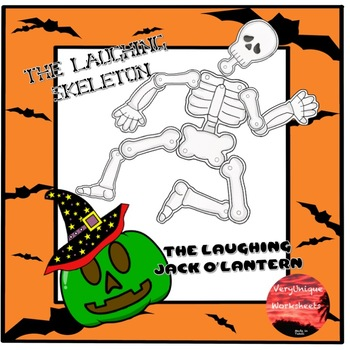 The Laughing Skeleton and the Laughing Jack o'Lantern
