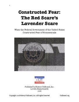 LGBT U.S. History - The Lavender Scare: Constructed Fear o