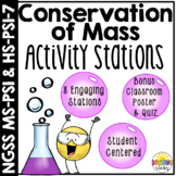 Law of Conservation of Mass Stations