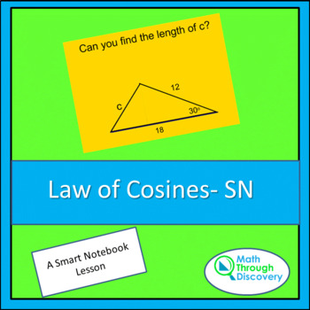 Geometry:  The Law of Cosines