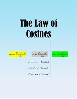TRIGONOMETRY: The Law of Cosines
