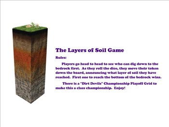 The Layers of Soil Game