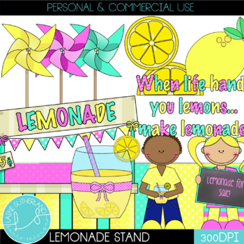 The Lazy Lemons Clip Art Collection