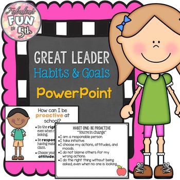 Leader Habits: PowerPoint and Notes