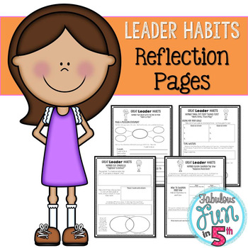 Leader Habits: Reflection Pages