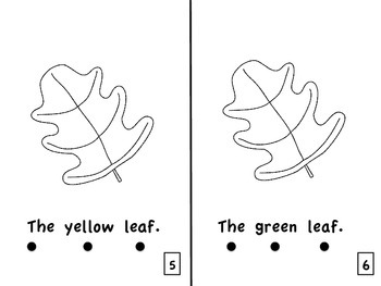 The Leaf Emergent Reader Guided Reading Level A