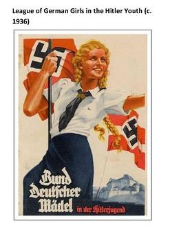 The League of German Girls Handout