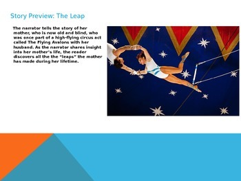 The Leap By Louise Erdrich Short Story Lesson