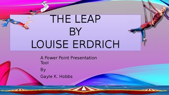 The Leap by Louise Erdrich
