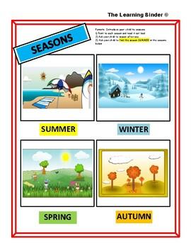 The Learning Binder - Season Summer