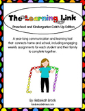The Learning Link:  A Year-Long Tool to Connect School and Home EDITABLE