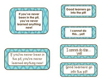 The Learning Pit {Teal Background}