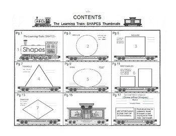 The Learning Train -SHAPES (interactive fun-K)
