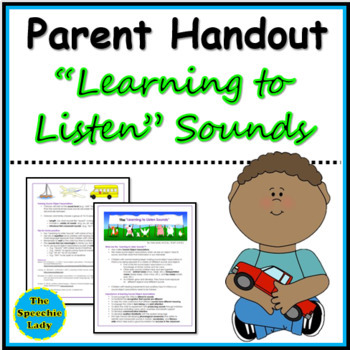 """The """"Learning-to-Listen Sounds"""""""