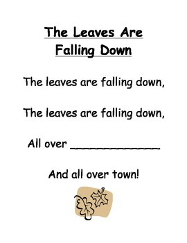 The Leaves Are Falling Down Poem