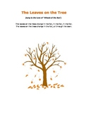 """The Leaves on the Tree"" - felt board activity - Special Ed PreK"