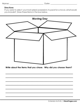 The Leaving Morning Lesson Plans & Activities Package, First Grade (CCSS)