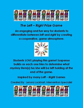 The Left - Right Prize Game