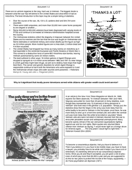 The Legacies of the Vietnam War (Document Packet)