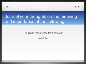 The Legal Profession and The Law Writing Prompts