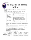 The Legend of Sleepy Hollow Writing Prompt