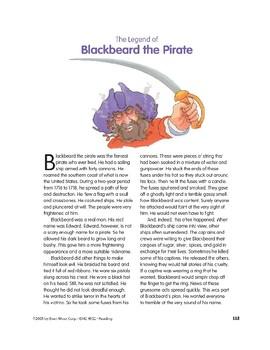 The Legend of Blackbeard the Pirate
