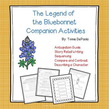 The Legend of the Bluebonnet Companion Activities