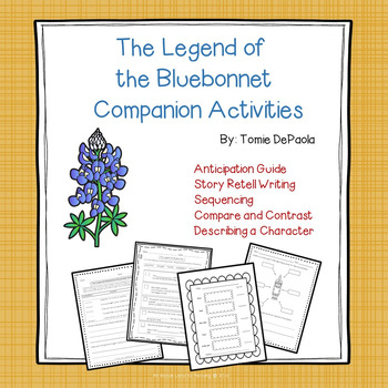 The Legend of the Bluebonnet Companion Activities