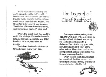 The Legend of Chief Reelfoot Lake