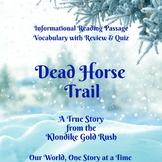 Dead Horse Trail: Nonfiction Reading Comprehension Passage