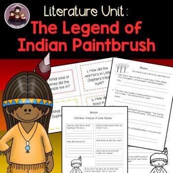The Legend of Indian Paintbrush: A Literature Unit