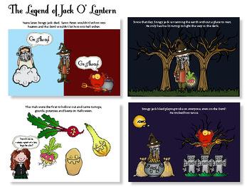 The Legend of Jack O' Lantern and Pumpkins - Social Studies - History