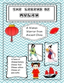 Mulan -Woman Warrior  (Close Reading) Taste of China! Lantern Riddles!