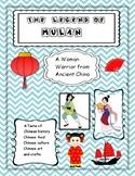 Mulan -Woman Warrior  (Close Reading) Taste of China! Lant