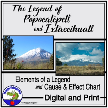 The Legend of Popocatepetl and Ixtaccíhuatl - Cause and Ef