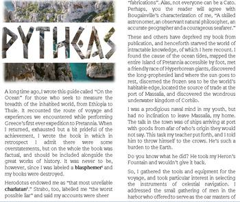 txt: The Legend of Pytheas Ancient Greek explorer