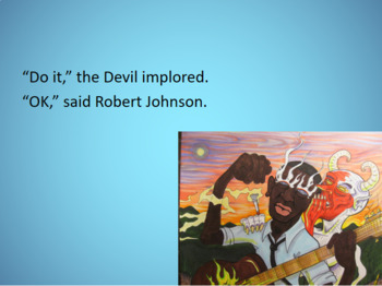 The Legend of Robert Johnson and Poetry Activity