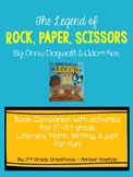 The Legend of Rock Paper Scissors Book Companion Bundle
