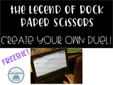 The Legend of Rock Paper Scissors Create Your Own Battle FREEBIE!